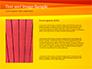 Bright Orange Background slide 15