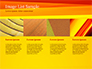 Bright Orange Background slide 16