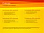 Bright Orange Background slide 2