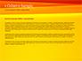 Bright Orange Background slide 4