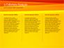 Bright Orange Background slide 6