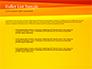 Bright Orange Background slide 7