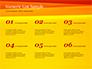 Bright Orange Background slide 8