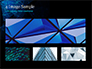 Abstract Geometrical Blue Bear slide 13