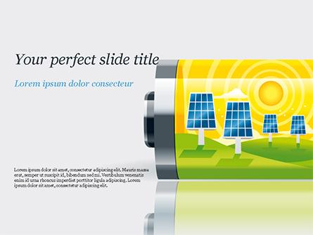 Alternative Energy Concept Presentation Template, Master Slide