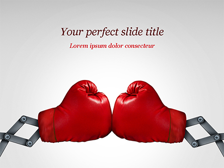 Competition Concept Presentation Template, Master Slide
