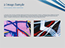 Blue and White Diagonal Lines Abstract slide 11