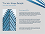 Blue and White Diagonal Lines Abstract slide 15