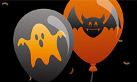 Halloween Balloons Presentation Template
