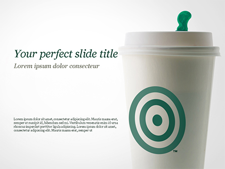 Starbucks Presentation Template, Master Slide