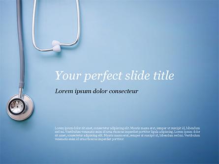 Stethoscope Presentation Template, Master Slide