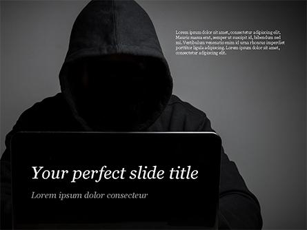 Computer Hacker Presentation Template, Master Slide