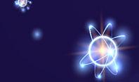 Shining Atom Model Presentation Template
