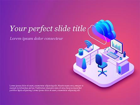 Smart Office Presentation Template, Master Slide