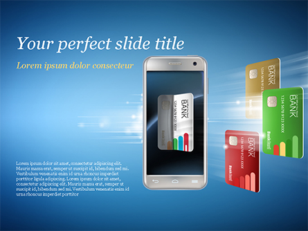Mobile Payments Presentation Template, Master Slide