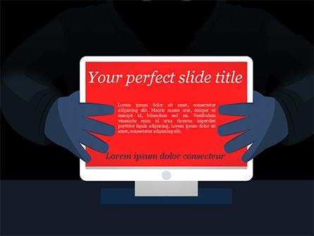 Computer Viruses Concept Presentation Template, Master Slide