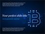 Digital Bitcoin Sign slide 1