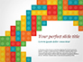 Colorful Lego Blocks slide 1