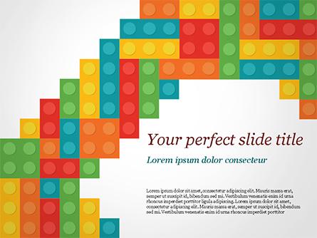 Colorful Lego Blocks Presentation Template, Master Slide