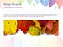 Cute Colored Leaves slide 10