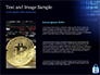 Digital Bitcoin Symbol inside Secure Lock slide 15