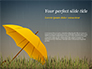 Bright Yellow Umbrella slide 1