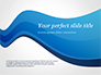 Blue Wavy Line slide 1