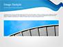 Blue Wavy Line slide 10