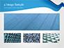 Blue Wavy Line slide 13