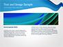 Blue Wavy Line slide 14