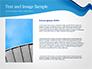 Blue Wavy Line slide 15