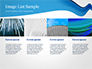 Blue Wavy Line slide 16