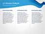 Blue Wavy Line slide 6