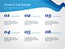 Blue Wavy Line slide 8