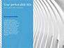 Blue Wavy Line slide 9