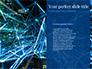 Abstract Blue Polygon Mesh slide 9