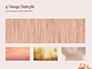 Soft Pink Background with Brush Strokes slide 13