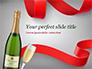 Celebration with Champagne slide 1
