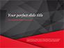 Red and Black Polygonal Background slide 1
