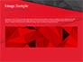 Red and Black Polygonal Background slide 10