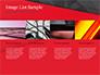 Red and Black Polygonal Background slide 16