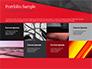 Red and Black Polygonal Background slide 17