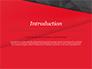 Red and Black Polygonal Background slide 3