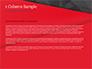 Red and Black Polygonal Background slide 4