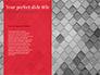 Red and Black Polygonal Background slide 9