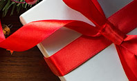 Christmas Gift Box Presentation Template