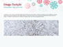 Colorful Snowflakes Background slide 10