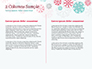 Colorful Snowflakes Background slide 5