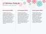 Colorful Snowflakes Background slide 6