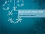 Snowflakes Crystal Balls slide 1